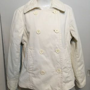 GAP, OFF WIGHT, DBL BREASTED PEACOAT COAT